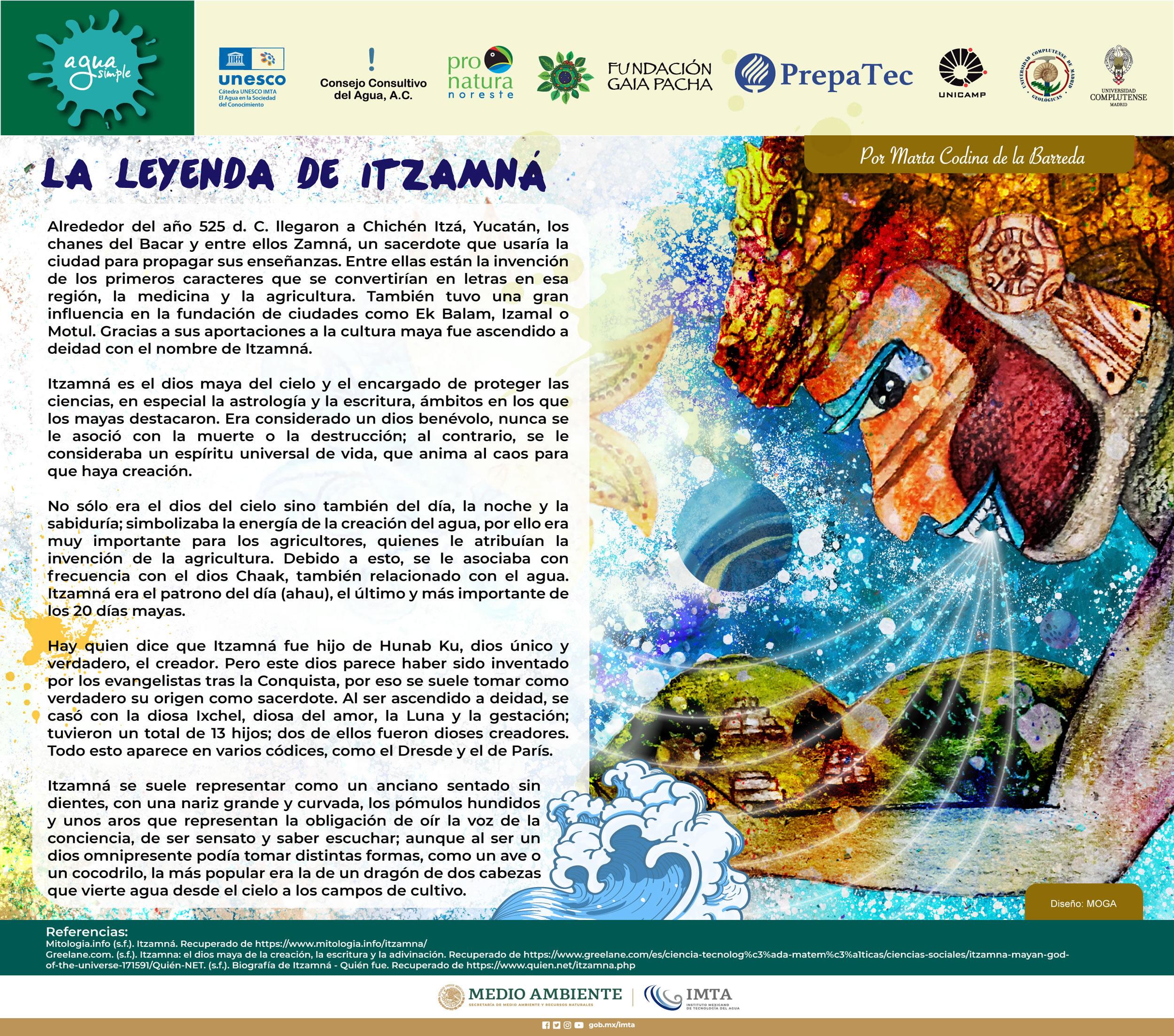 La leyenda de Itzamná