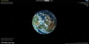 cómo se veía la Tierra hace millones de años