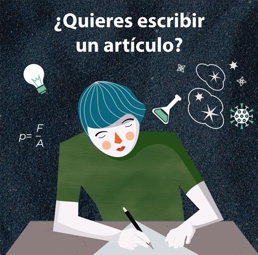 ¿Quieres escribir un artículo?